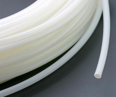 Click to enlarge - PTFE tubing made from high grade PTFE materials that is designed for any number of high temperature applications. Being chemically inert, PTFE tubing is used to convey many aggressive chemicals and solvents.